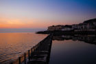 Madeira Cove, Weston-super-mare, sunset, Coast